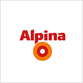 Alpina - Point of Sale Bodendisplay Werbeform