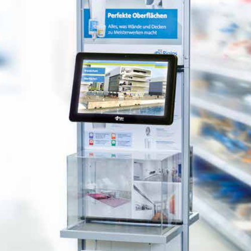 Multimedia Point of Sale Displays von Werbeform